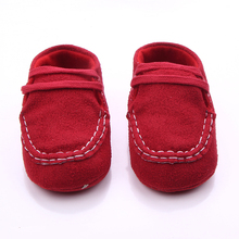 4 Colors New Fashion Baby Shoes Soft  Sole Flock Baby First Walking For The  Boys And Girls For 0-15 Months
