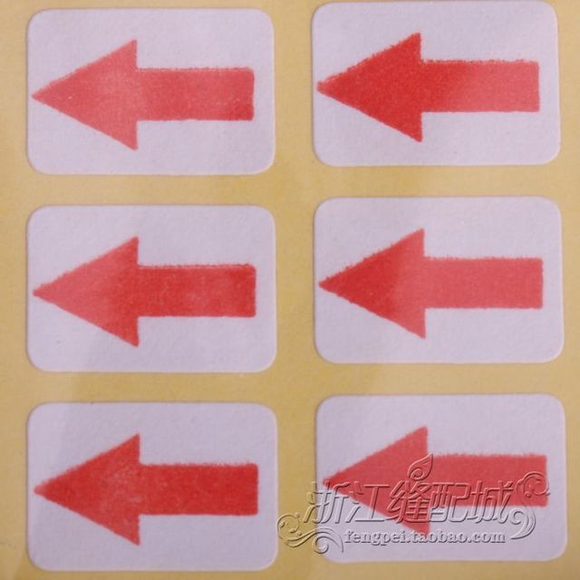 glue dry stickers rework paper arrow labels marking papers