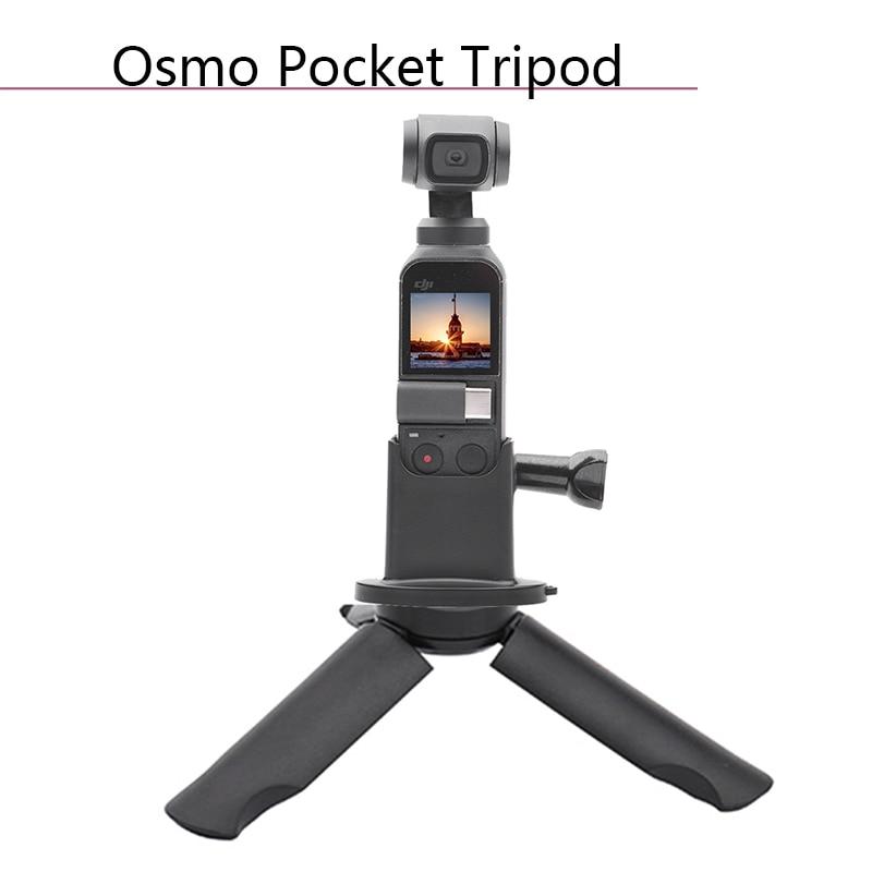 Portable DJI OSMO POCKET Base Adapter Desktop Tripod Stand Bracket for Osmo Pocket Handheld Gimbal Camera Accessories Spare Part pocket tripod pro