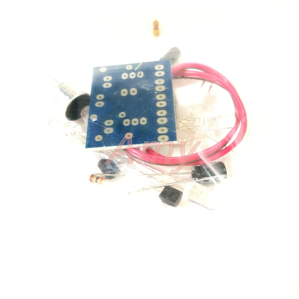 10pcs/lot Voice-activated LED lights melody interesting electronic production suite of DIY Kit