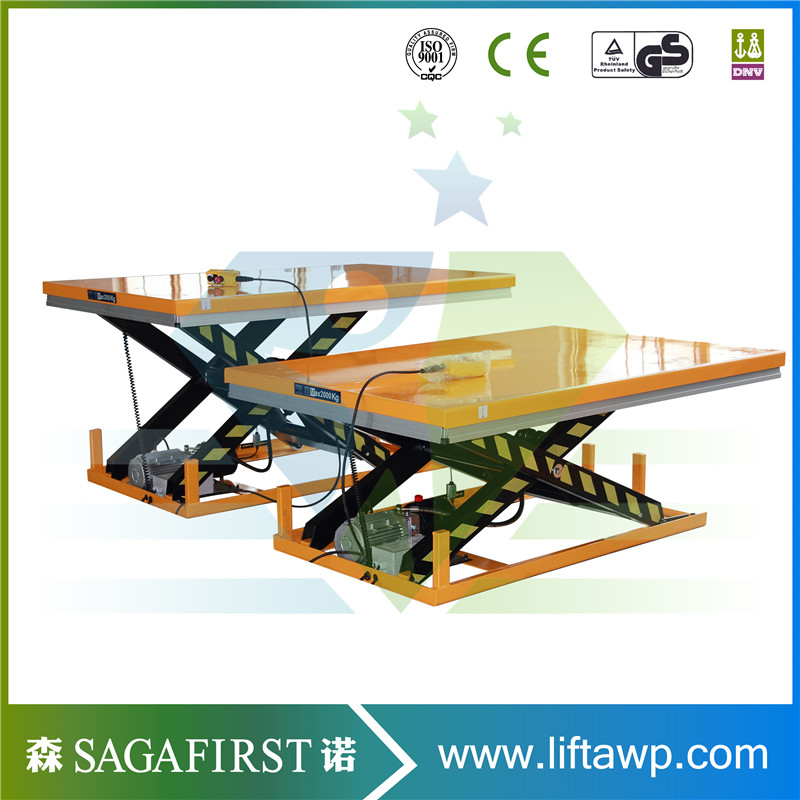 2018 High Quality 1ton To 4ton Standard Hydraulic Scissor Lift Table For Sale