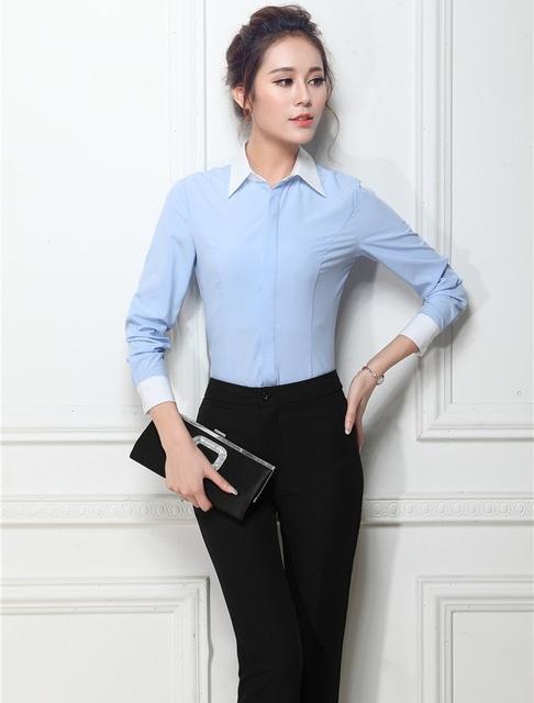 Plus Size Formal de Estilo Uniforme 2015 Negócios Primavera Outono Desgaste do Trabalho Ternos Com Calças E Blusas Escritório Senhoras Calças Definidos