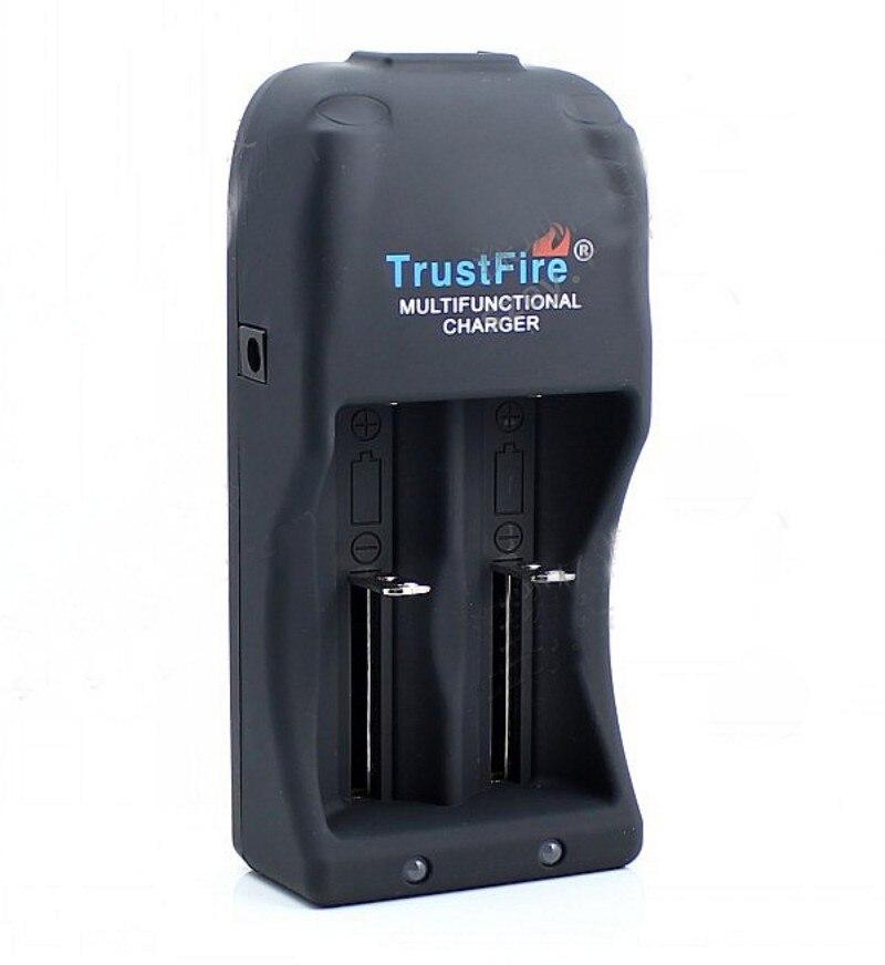 TrustFire Многофункциональный TR-006 26650 ЕС зарядное устройство с 2 шт 26650 5000 мАч перезаряжаемая батарея