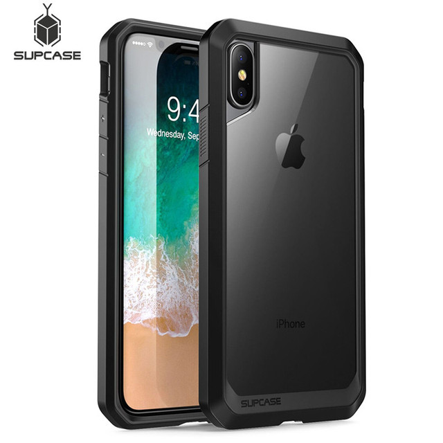 Чехол SUPCASE для iphone X XS 5,8 дюймов, чехол с единорогом, жуком, серии UB, высококачественный гибридный защитный прозрачный чехол для iPhone X Xs