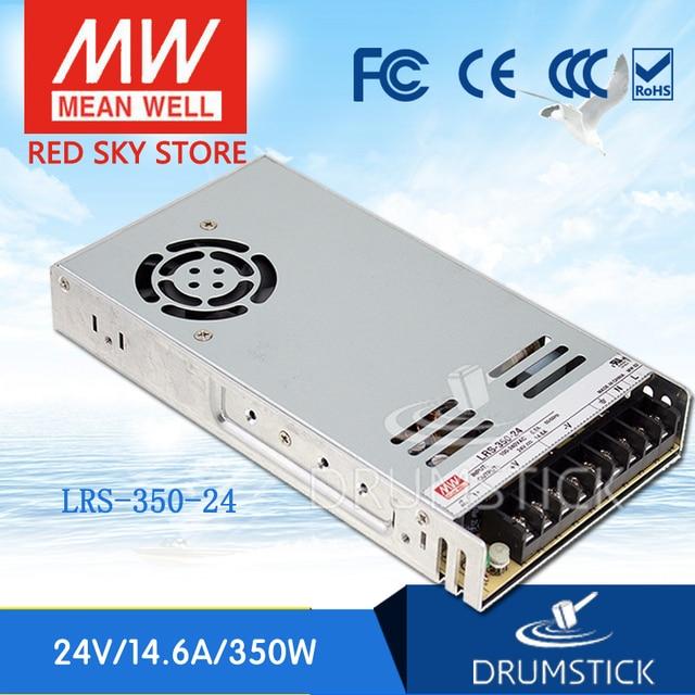 Steady MEAN WELL LRS 350 24 24V 14.6A LRS 350 350,4 W источник питания с одним выходом