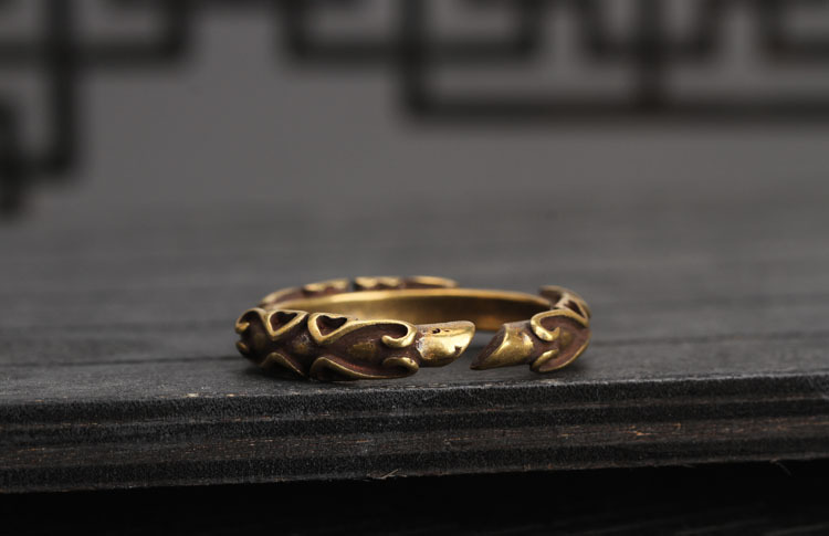 copper key rings (14)