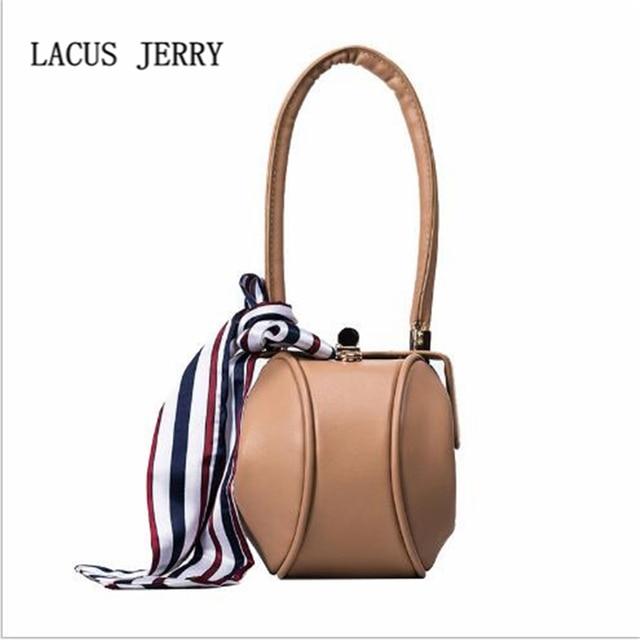 Lacus Jerry 2017 Fashion Las Lantern Bags Female Scarf Luxury Handbag Brand Woman Casual Mobile Phone
