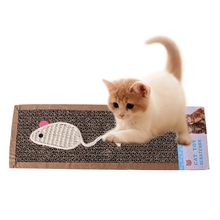 Pet Cat Sisal Kitten Scratch Scratching Board Post Claws Sisal Hemp Scratch Mat Pad Cat Toys Pet Products цена