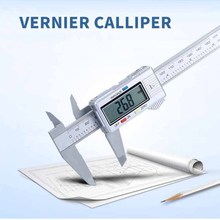 все цены на New Electronic Digital Display Vernier Caliper 0-150-100mm Full Plastic Digital Caliper Cursor Measuring Tool онлайн