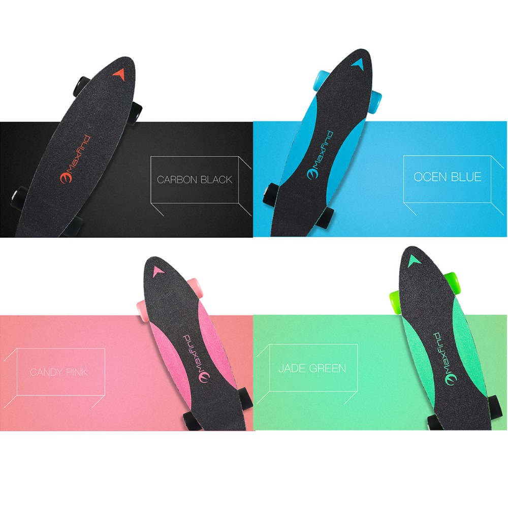 Самая низкая цена Maxfind 3,7 кг наиболее портативный хаб двигатель дистанционного Электрический скейтборд с samsung батарея