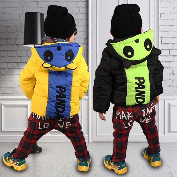 Boys jackets Spring Autumn Hooded Car Baby Boys Outerwear Coats Children Jackets For Boys 2-8Y Kid Windbreaker Clothes