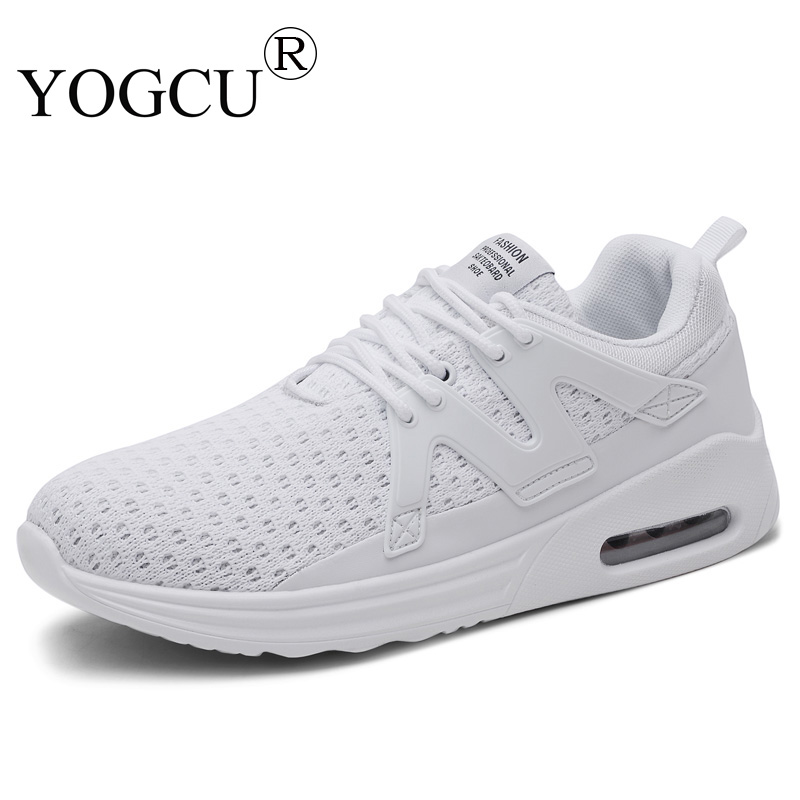 Mens sports shoes youth breathable Non-slip fly woven run light comfortable mesh Superstar running shoes