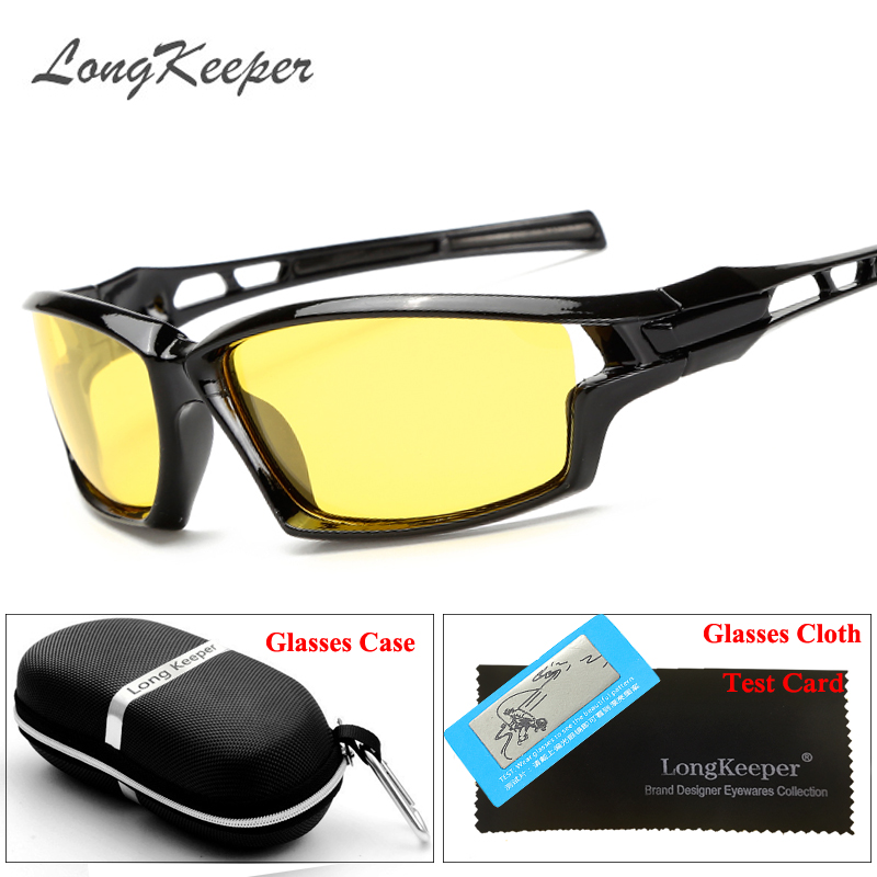 98c6e52f67d LongKeeper New Stylish Sunglasses Polarized Glasses Black Brown Super Cool  Brand Designer Eyewear Driving Accessories With Case