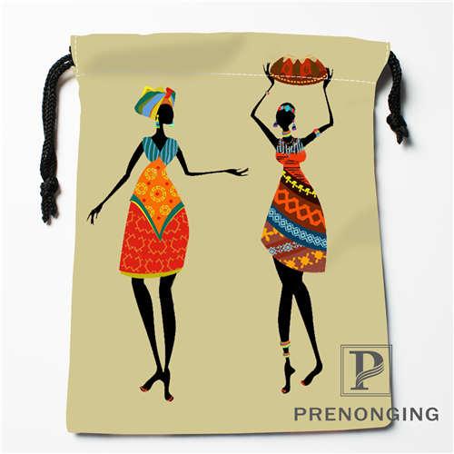 Custom Indian Style Art Drawstring Bags Printing Fashion Travel Storage Mini Pouch Swim Hiking Toy Bag Size 18x22cm 171203-05-03
