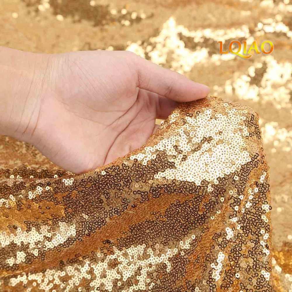 9 футов блестящие золотистые блестки фон, романтический занавес с блестками фон для Свадебная фотокабина Блестки ткань украшения белья