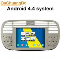Ouchangbo S160 Platform Autoradio Car Dvd For Fiat 500 White Colour With Buil In WIFI Gps