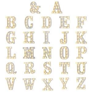 New Plastic Alphabet LED Night