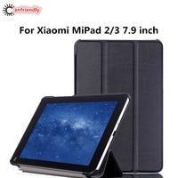 Folding PU Leather Flip Case For 7 9in Xiaomi Mipad 2 Mipad 3 7 9 Inch