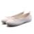 HOT 2017 primavera sólido bowtie de las mujeres zapatos del barco mocasines de las mujeres zapatos de los planos del ballet de deslizamiento de la moda en punta redonda de las mujeres alpargatas