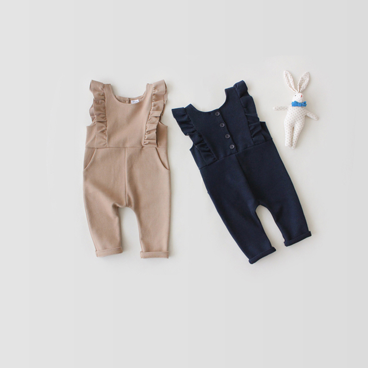 2017 2pcs/lot New Fashion Spring Summer Lovely Baby Overalls Newborn Children Cute Lovely Rompers Infant Clothes Kids Jumpsuit 2017 new fashion cute rompers toddlers unisex baby clothes newborn baby overalls ropa bebes pajamas kids toddler clothes sr133