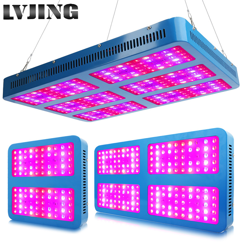 LED Grow Light 1000W 2000W 3000W Full Spectrum Grow Lamper til medicinske blomsterplanter Vegetativ indendørs drivhus vokser teltkasse