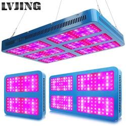 Luz de crecimiento LED 1000W 2000W 3000W lámparas de cultivo de espectro completo para medicinal flor plantas de invernadero de interior caja de tienda de cultivo