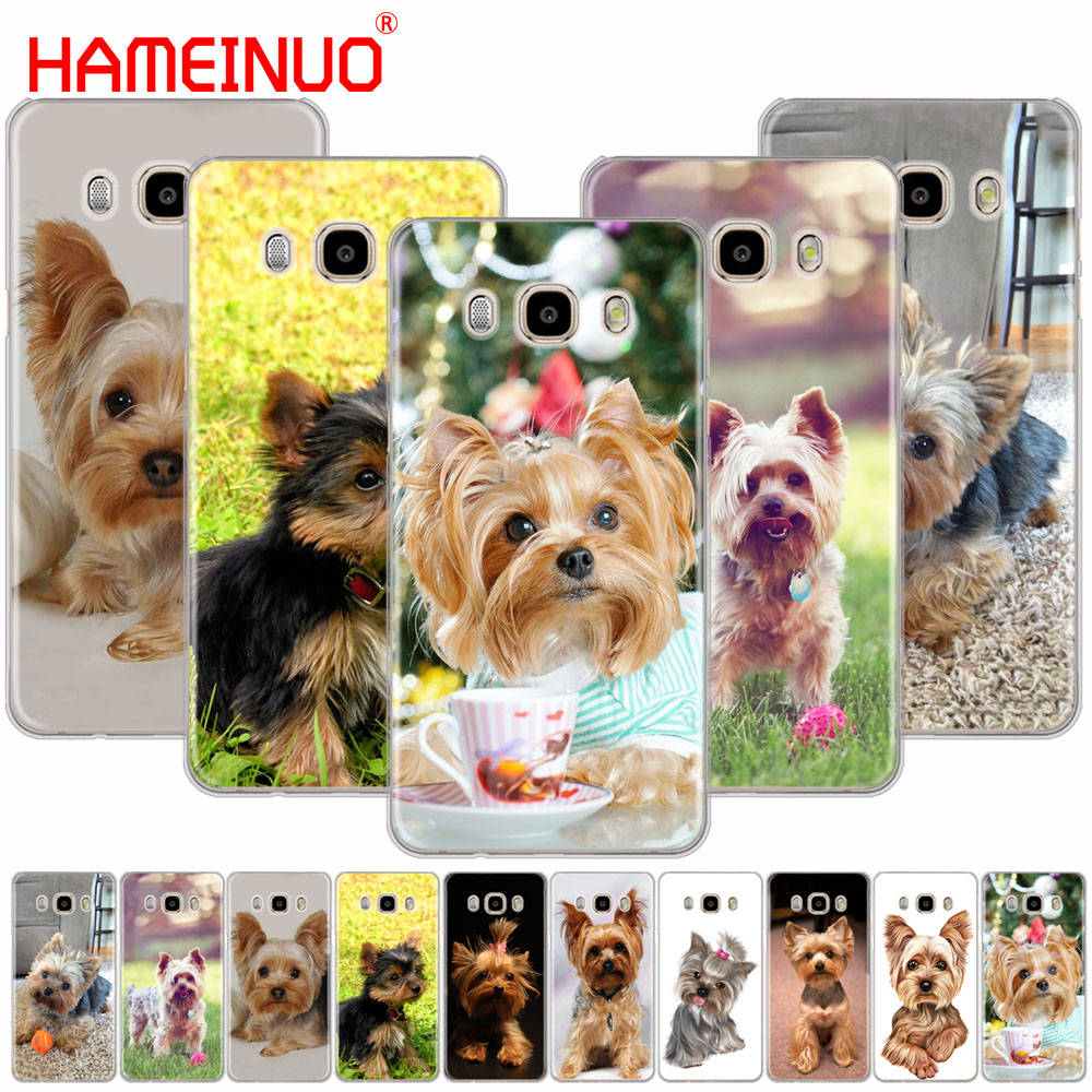 HAMEINUO yorkshire terrier dog puppy cover phone case for Samsung Galaxy J1 J2 J3 J5 J7 MINI ACE 2016 2015 prime