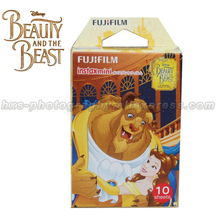 Limited Beauty and The Beast Fujifilm Instax Mini 8 Instant Film 10pcs Photo Paper For Mini Camera and Share Smartphone Printer