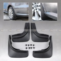 Free Shipping Tracking MUD FLAP FLAPS SPLASH GUARDS MUDGUARD FOR 2009 2010 2011 2012 VW GOLF