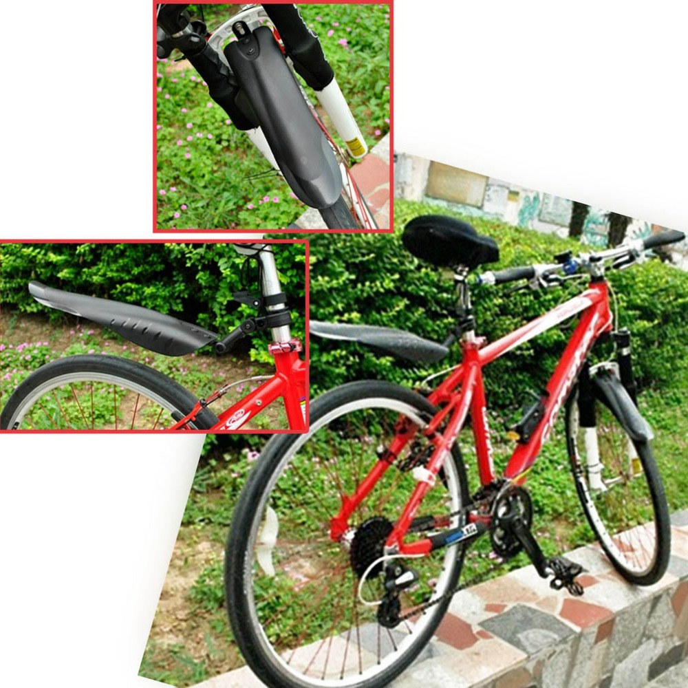 Mountain Bike Bicycle MTB Cycling Tire Front Rear Mudguards Mud Guard Fender USA