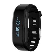 № 1 SmartBand Водонепроницаемый силиконовые браслеты спорта Смарт часы умный браслет с мобильного телефона вызовы монитор сердечного ритма