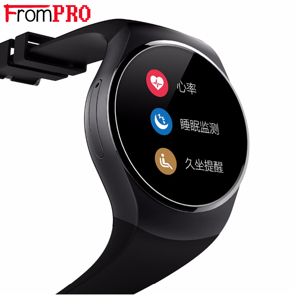 K18 Smart Watch SIM TF MTK2502 Heart Rate Monitor Smartwatch Touch Screen bluetooth Wristwatch for apple android IOS W phones цена