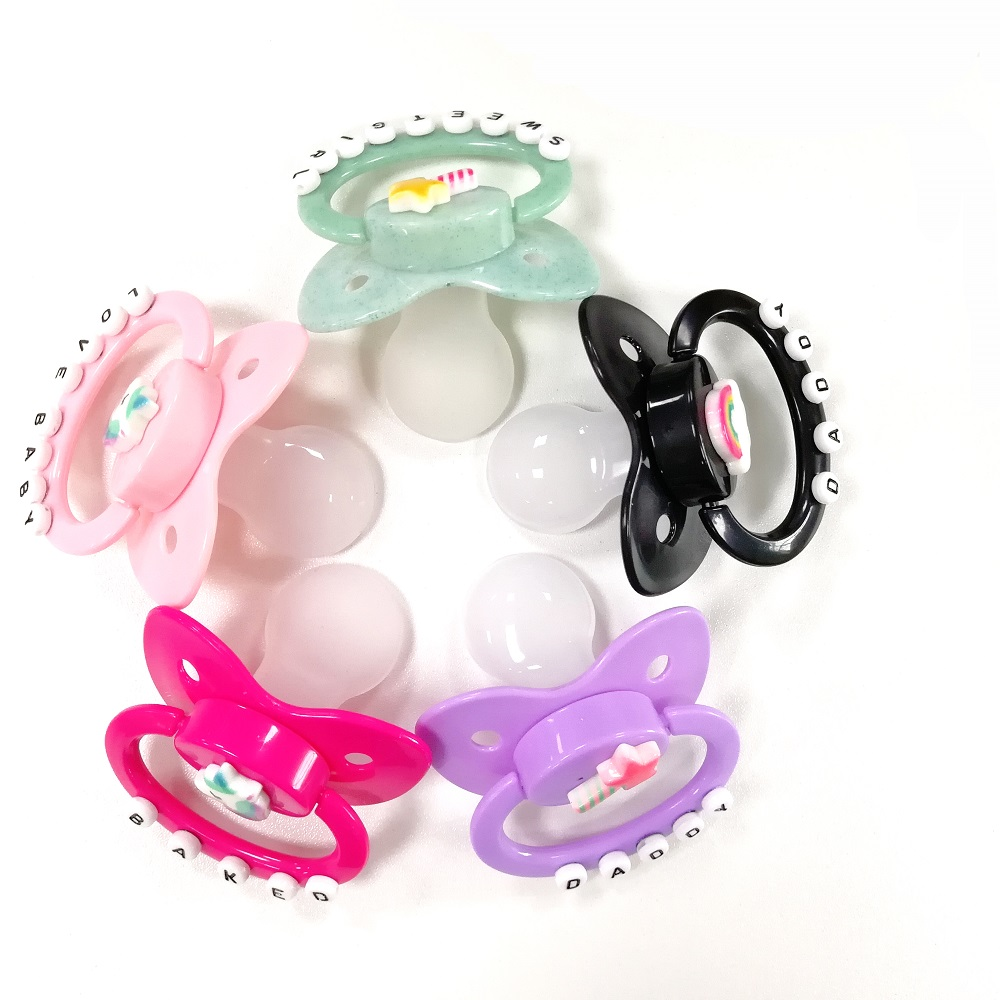 Ddlg Abdl Pacifier Classic Customized Silicone Adult Baby Pacifier Plus SizeLittle Space Daddys Girl Daddy Dom