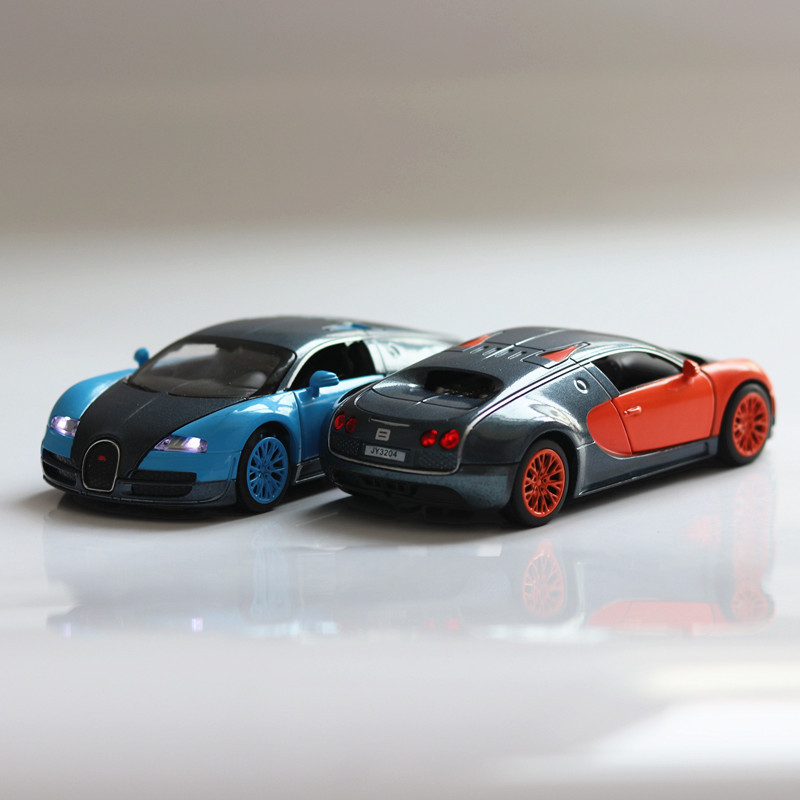 Double Horses 1:32 Bugatti Veyron Alloy Diecast Car Model Pull Back Diecast  Metal Cars Electronic Kids Car Toys For Children In Diecasts U0026 Toy Vehicles  From ...