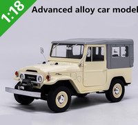 1:18 Advanced alloy car models,high simulation Land Cruiser FJ40 1977 ,metal diecasts suv,collection toy vehicles,free shipping