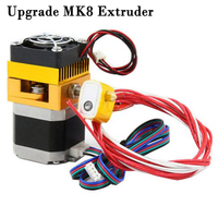 Upgrade MK8 Extruder 0.4mm/1.75mm Print Head ABS PLA filament for 3D Printer Makerbot Prusa