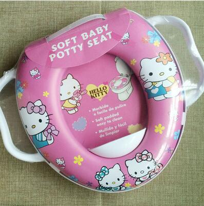 cartoon hello kitty mickey minnie car princess thomas spiderman children boy girl home toilet training potty seat cover in toilet seat covers from home