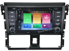 FOR TOYOTA YARIS 2014 Android 8.0 Car DVD player Octa-Core(8Core) 4G RAM 1080P 32GB ROM WIFI gps head device unit stereo