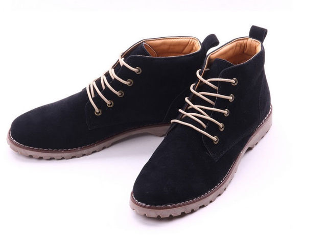 TEXU  British Mens Casual Lace Suede Ankle  Loafers Shoes casual shoess