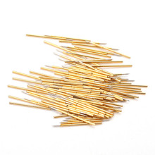 P048-B New Durable Test Needle Sleeve Probe Length 12.5mm Spring 100 / Pack Convenient Safety