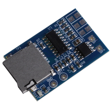 OOTDTY 2W 3.7-5V TF Card MP3 Decoder Board Power Module Mixed Mono Playback With Memory