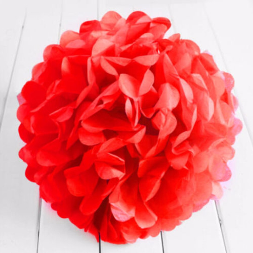 Tissue Paper Pom Pom Flowers Ball Party Wedding Home Baby Shower