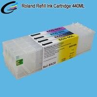 Эко sol max многоразового картридж сюда Roland versastudio BN 20 принтер экологически чернила вместимость с постоянным чип