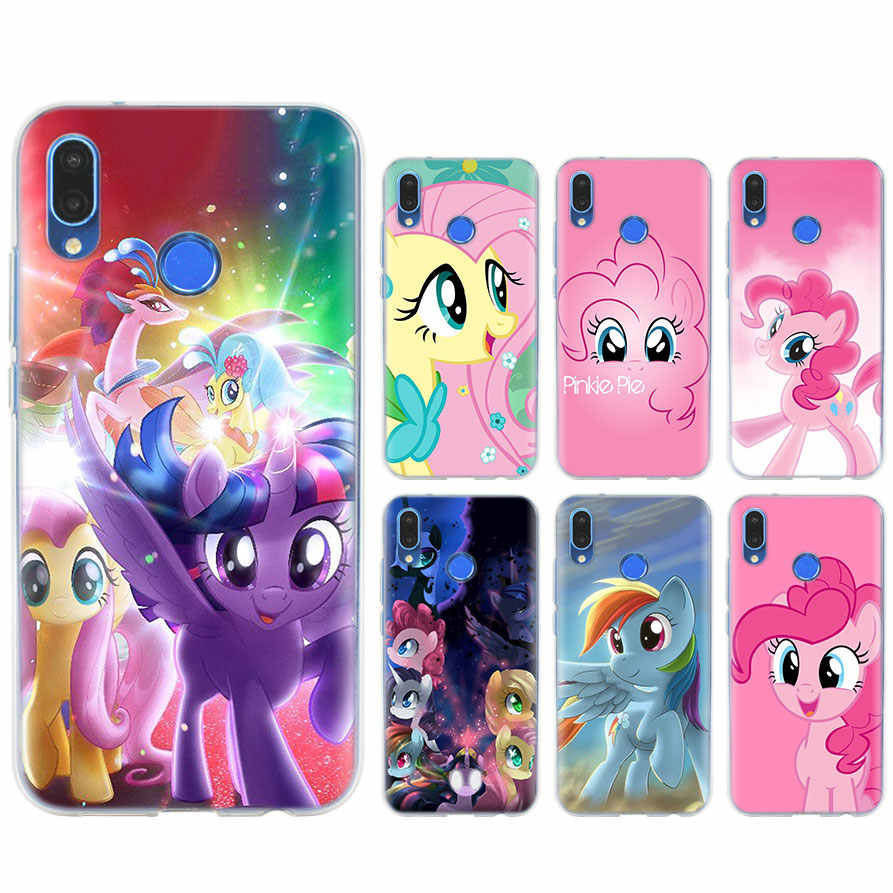 Силиконовый чехол для телефона My Little Pony для huawei P10 20 Lite 20 Pro P Smart mate 10 20 Lite View 20 Coque Fundas