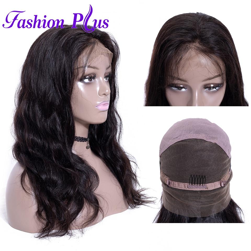 Full Lace Human Hair Wigs For Black Women Full Lace Wigs Human Hair With Baby Hair 180% 10-28'' Body Wave Can Be Custom Wigs