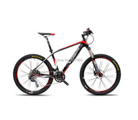 2015 Carbon Fiber Mountain Bike 27speed Shiman0 Mountain Bike Bicycle Fork Oil Disc Brakes Gas Ultralight