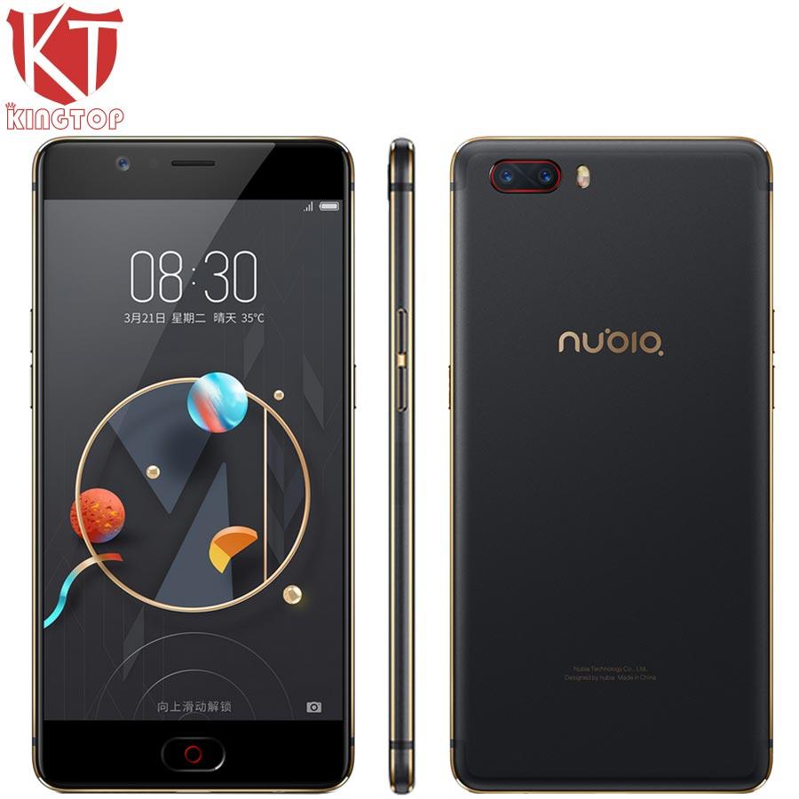 Original Nubia M2 Mobile Phone Snapdragon 625 Octa Core 4GB RAM 64GB ROM 5.5 inch 16MP Dual 13MP 3000mAh 4G SmartPhone