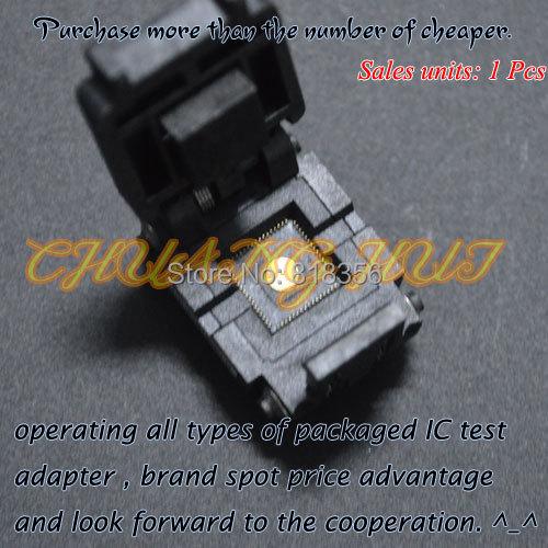 IC TEST Pitch=0.5mm Size=9x9mm DFN64 QFN64 MLF64 WSON64 ic test socket
