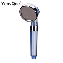 Shower Water Filter Nozzle Head Sprinklerp SPA Pp cotton Shower Supercharged Handheld Water-saving Bath Shower Nozzle