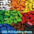 1000 Pieces Building Bricks Blocks Legoings City Friends DIY Creative Bricks Bulk Model Figures Kids Toys Compatible All Brands